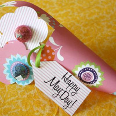 May Day Baskets {Printable Activities for Kids}