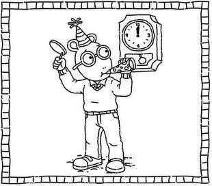 2016 new years eve coloring pages ~ New Year's Eve Coloring Pages – Tip Junkie