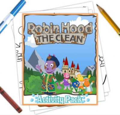 Printable Backyardigans Activity Pack