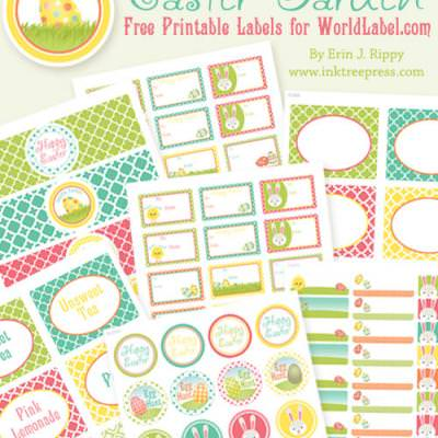 Printable Easter Label Set