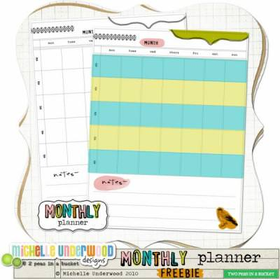 Printable Planner Pages {free}