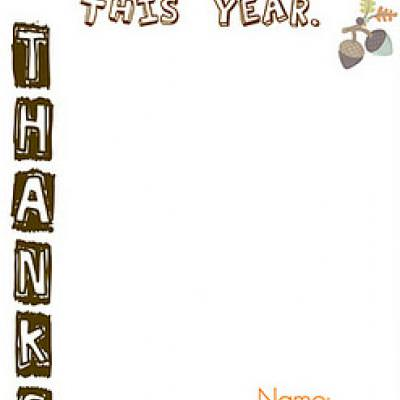 Printables for the Thanksgiving Kids Table {Thanksgiving Printables}
