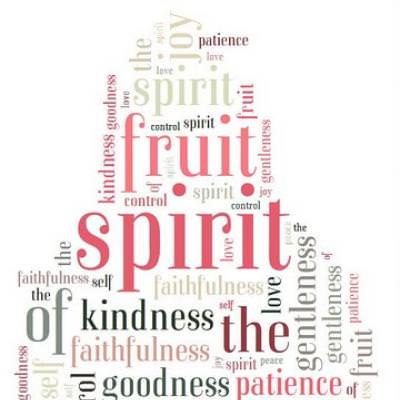 The Fruit of the Spirit is Love...  {diy decor}