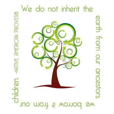 We Do Not Inherit the Earth {Free Earth Day Printable}