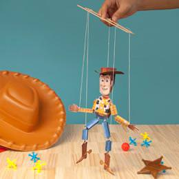 Woody Marionette {Toy Story Printable}