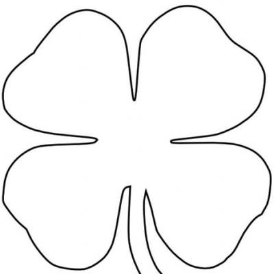 coloring pages 3 leaf clover - photo#18