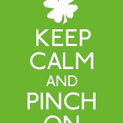 St. Patty's Keep Calm Print {printable}