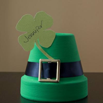 DIY St. Patricks Day Placecard {St. Patrick's Day Party Decor}