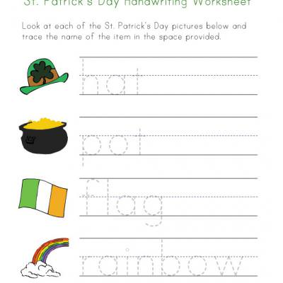 Printable St Patricks Day Worksheets {St Patricks Day Worksheets}