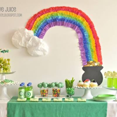 St. Patrick's Day Party {St Patricks Day Celebration}