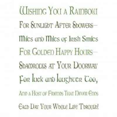 Irish Friendship Blessing {St Patricks Day Printables}