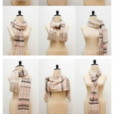 38 Popular Ways to Tie A Scarf!