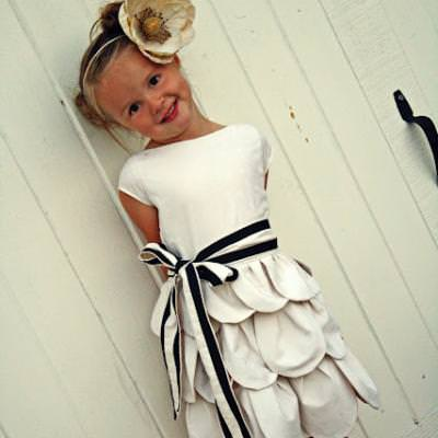 Girly Girl Pedal Dress DIY {Children's Clothing}