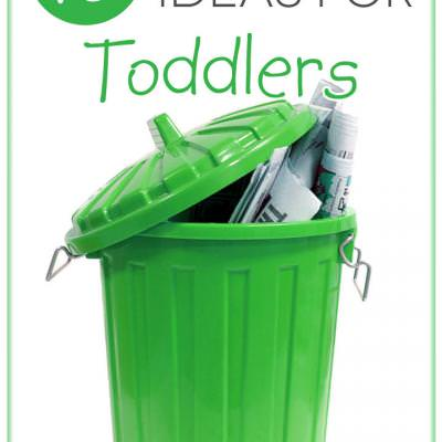 10 Chore Ideas for Toddlers {Chores}