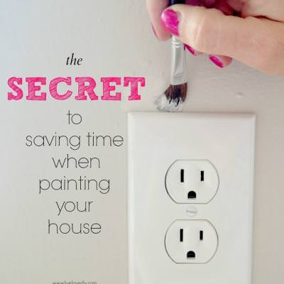 10 Painting Tips and Tricks {Painting Tips}