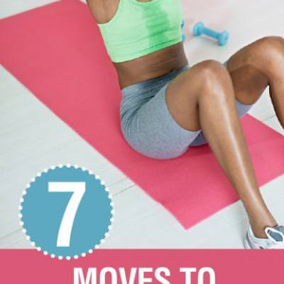 7 Moves to Lose Your Love Handles {Workout Ideas}