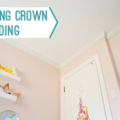 A Fabulous Crown Molding Tutorial {Molding}