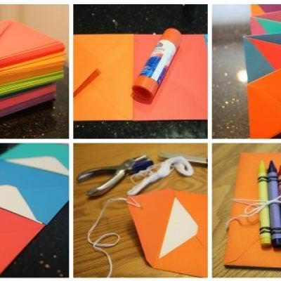 Accordion Envelope Books {DIY Books}