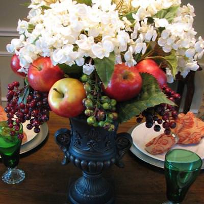 Add Fruit To A Floral Arrangement