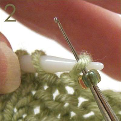 Adding Beads to Your Knitting {Knitting}