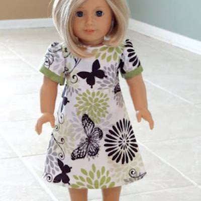 American Girl Doll Dress {Doll Clothing}
