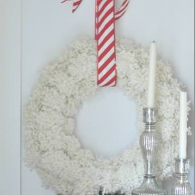 Anthropologie Knock-off Wreath {diy christmas}