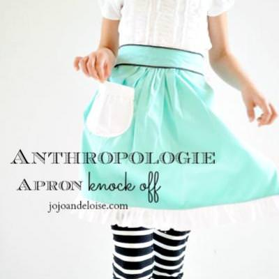 Anthropology Inspired Apron {Aprons}