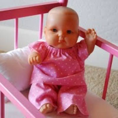 Baby Doll Clothing Tutorial and Pattern {Doll Clothing}