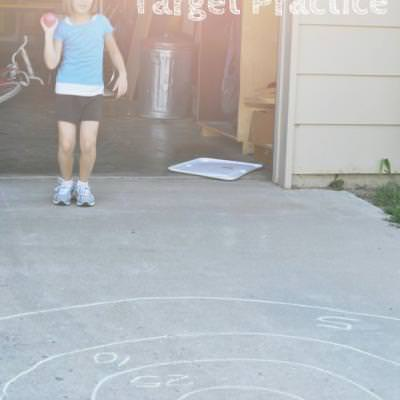 Balloon Target Proctice {Outdoor Games}
