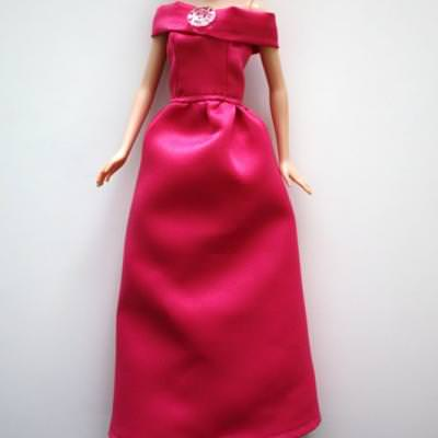 Barbie Ball Gown Tutorial {Doll Patterns}