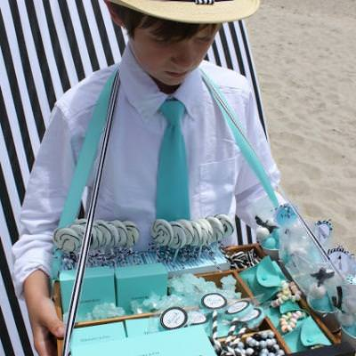 Beach Glam Party {Tiffany & Co. inspired}