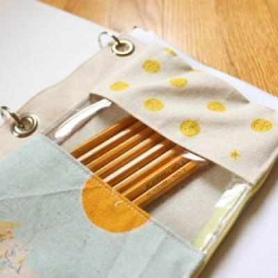 Binder Pencil Pouch {Back to School}