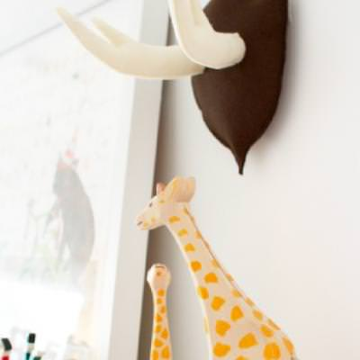 Black Forest Antler Wall Decor {Home Accents}