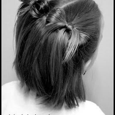 Bow Pigtails Tutorial {Girl Hairstyles}