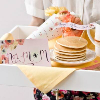 Breakfast in Bed Printables {Mother's Day Breakfast}