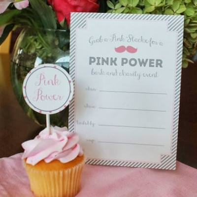 Breast Cancer Awareness Celebration {free printables}