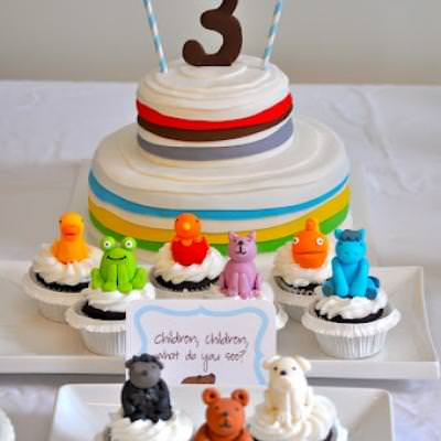 Brown Bear, Brown Bear, What do you See? {themed party idea}
