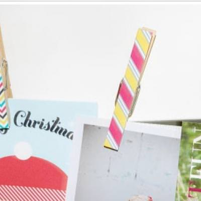 Chic Clothespin Printables