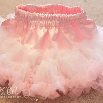 Chiffon and Tulle Tutu {Tulle}