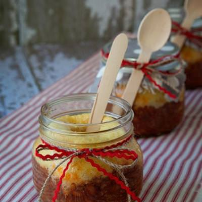 Chili and Cornbread in a Jar {recipe how to}