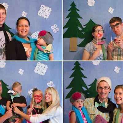 Christmas Party With a Photobooth {Christmas Party}