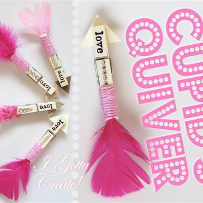 Clothespin Love Arrows {Valentine Crafts}
