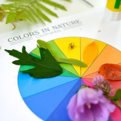 Colors of Nature Objective Lesson {Preschool}
