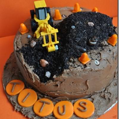 Construction Birthday Cake Boy Party Cake Ideas Tip Junkie