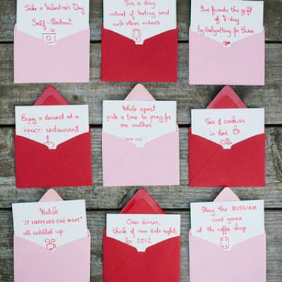 Couples Valentines Advent Countdown {Romantic Valentines Dates}