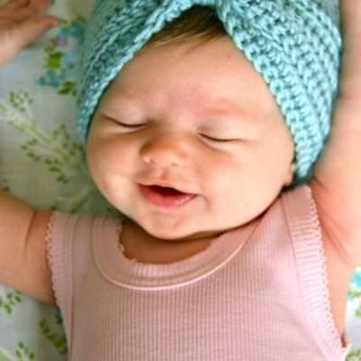 Crochet Baby Turban {Intermediate Crochet}