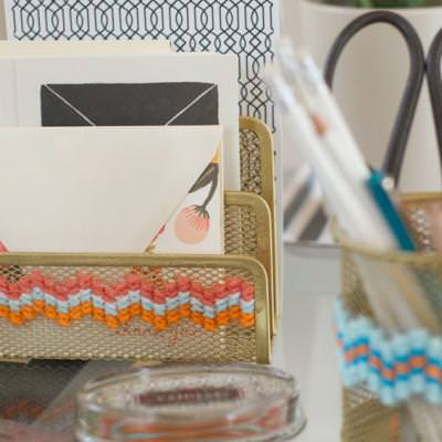 Cross-Stitch Office Supplies {Cross Stitch}