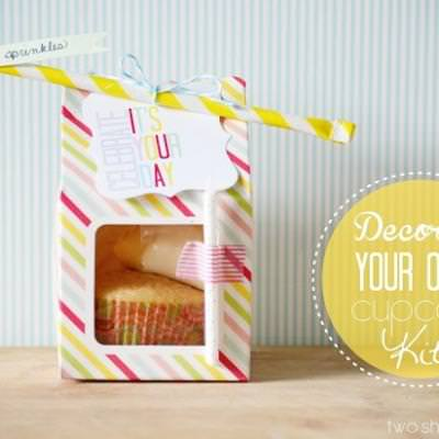 Decorate a Cupcake Kit {birthday gift}