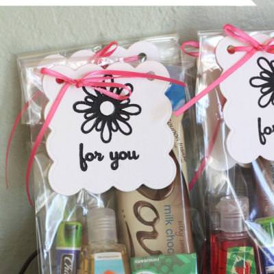 Delivery Nurse Thank You Gift Bags {New Mom}