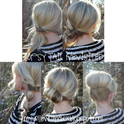 Different Up-do's For The Ponytail Lover {Hairstyles}